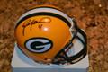 Brett Favre Signed Official Riddell Green Bay Packers Mini Helmet