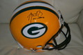 "Aaron Rodgers Authentic Autographed Green Bay Packers Proline Helmet with ""XLV MVP"" Inscription and #12"
