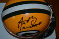 "Aaron Rodgers Authentic Autographed Green Bay Packers Mini Helmet with ""XLV CHAMPS"" (only 1 left)"