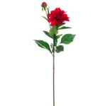 Dahlia Spray - Red