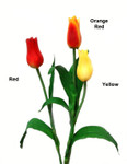 Real Touch Artificial Pointed Tulips