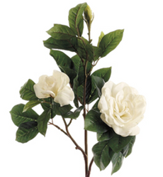 Real Touch Artificial Gardenia Flowers
