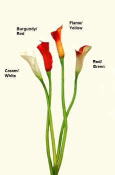 Real Touch Medium Calla Lily Buds