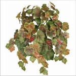 Fall Grape Leaf Hanging Bush x 15