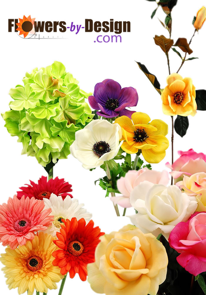 Real Touch Flower Samples