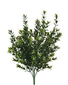 Artificial Boxwood Bush Plant - Fake Outdoor Bushes
