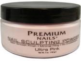 Premium Nail Powder ULTRA PINK 5 oz (454 gr.)