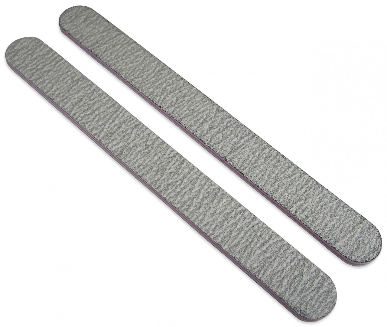 MEDIUM ROUND ZEBRA NAIL FILES - 80/80 GRIT (50pcs) - Diamond Nail ...