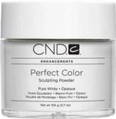 CND - Pure White Opaque Powder 3.7 Oz.