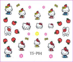 3d Nail Sticker Hello Kitty Ys P04 Diamond Nail Supply Llc