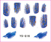 3D Nail Sticker-Feather #YS-G16