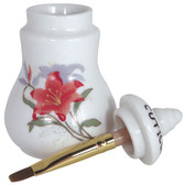 Small Cuticle Oil Jar with Brush (50 mL)