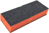 Dixon 2-Sides Disposable Orange 100/100 Black Grit (1 piece)