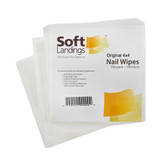 NEW 4SQUARES LINT-FREE WIPES PLUS CASE (400 COUNT)