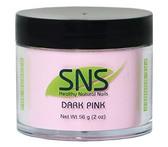 SNS Dark Pink Powder