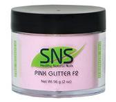 SNS Pink Glitter F2 Powder