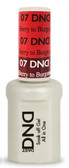 #07 - DND Mood Gel - Berry To Burgundy 0.5 oz