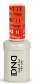 #11 - DND Mood Gel - Orange To Red 0.5 oz