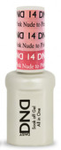 #14 - DND Mood Gel - Nude To Pink 0.5 oz