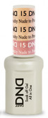 #15 - DND Mood Gel - Nude To Peachy 0.5 oz