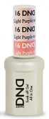 #16 - DND Mood Gel - Light Purple To Pink 0.5 oz