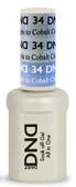 #34 - DND Mood Gel - Creme Purple To Cobalt 0.5 oz