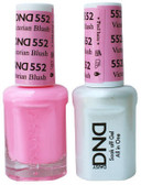 #552 - DND DUO GEL WITH MATCHING POLISH - VICTORIAN BLUSH