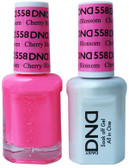#558 - DND DUO GEL WITH MATCHING POLISH - CHERRY BLOSSOM