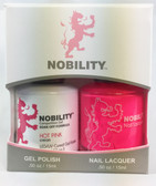 Lechat Nobility Gel and Polish Duo - Hot Pink (0.5 fl oz)