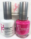 Lechat Nobility Gel and Polish Duo - Irresistible Pink (0.5 fl oz)