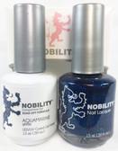 Lechat Nobility Gel and Polish Duo - Aquamarine (0.5 fl oz)
