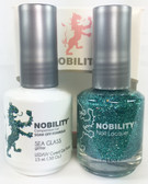 Lechat Nobility Gel and Polish Duo - Sea Glass (0.5 fl oz)