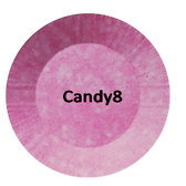 CHISEL 2IN1 ACRYLIC & DIPPING 2OZ - CANDY COLLECTION -CANDY8