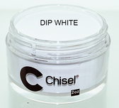 CHISEL 2IN1 ACRYLIC & DIPPING 2OZ - PINK & WHITE - DIP WHITE