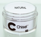 CHISEL 2IN1 ACRYLIC & DIPPING 2OZ - PINK & WHITE -NATURAL