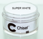 CHISEL 2IN1 ACRYLIC & DIPPING 2OZ - PINK & WHITE -SUPPER WHITE