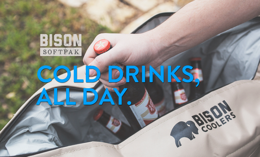 Bison Soft-Sided Cooler - American Made
