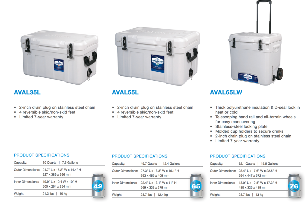 Avalanche Coolers - Top Cooler Brands
