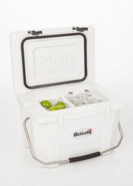 Grizzly Cooler Folding Cutting Board - 20 Quart Cooler Featured In Image