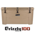 Grizzly 100 Quart Rotomolded Cooler
