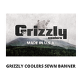 Grizzly Coolers Sewn Banner