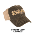 Stitched Logo Tan Hat