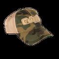 Stitched Logo Camo Hat