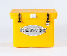 60 Quart Ice Chest I Cooler by Icey-Tek in Yellow