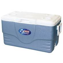 The Coleman 70-Quart Xtreme Cooler keeps up to 98 cans cold for up to five days, even in temperatures as hot as 90-degrees.