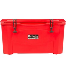 Grizzly 60 Quart Cooler - Red