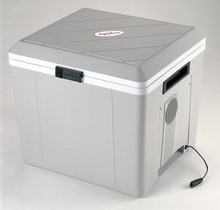 This incredible cooler uses state-of-the art thermoelectric cooling technology. 12 Volt Cooler - Thermoelectric Cooler