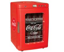 Coca Cola Vintage Style Fridge - Red - KWC-25