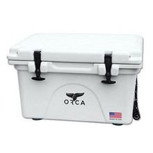 ORCA 40 qt. High Performance Cooler - White - Made In The USA