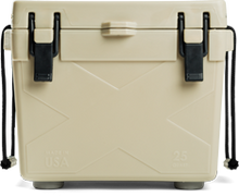 25 Quart Bison Cooler - Tan - Formerly Brute coolers